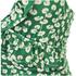 Ganni Women's Lyme Frill Swimsuit - Green: Image 3