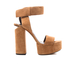 Alexander Wang Women's Keke Platform Heeled Sandals - Clay: Image 1
