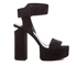 Alexander Wang Women's Keke Platform Heeled Sandals - Black: Image 1