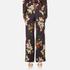 Gestuz Women's Cally Floral Print Wide Leg Trousers - Multi Colour Flower: Image 3