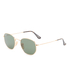 Ray-Ban Hexagonal Metal Frame Sunglasses - Gold/Green: Image 2