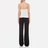 Diane von Furstenberg Women's Amare Jumpsuit - Ivory/Black: Image 3