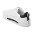 Kendall + Kylie Women's Tyler Leather Flatform Trainers - White/Black: Image 4