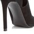 Kendall + Kylie Women's Estella Suede Strappy Heeled Sandals - Black: Image 5