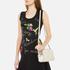 Love Moschino Women's Love Heart Embossed Mini Cross Body Bag - Beige: Image 2