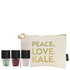nails inc. Peace, Love, Kale Gift Set 3 x 5ml: Image 2