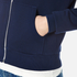 Maison Kitsuné Women's Fox Patch Zip Hoody - Dark Blue: Image 6