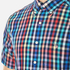 GANT Men's Small Check Short Sleeve Shirt - Persian Blue: Image 4