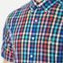GANT Men's Small Check Short Sleeve Shirt - Persian Blue: Image 4