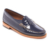 Bass Weejuns Women's Penny Wheel Patent Leather Loafers - Deep Navy: Image 2