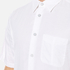 rag & bone Men's Standard Issue Short Sleeve Beach Shirt - White: Image 5