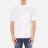 rag & bone Men's Standard Issue Short Sleeve Beach Shirt - White: Image 1