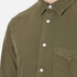 rag & bone Men's Standard Issue Beach Shirt - Dark Olive: Image 5