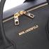 Karl Lagerfeld Women's K/Klassik Bowling Bag - Black: Image 5