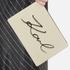 Karl Lagerfeld Women's K/Metal Signature Pouch - Beige: Image 3