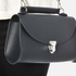 The Cambridge Satchel Company Women's Mini Poppy Bag - Navy Saffiano: Image 3