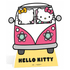 Hello Kitty Campervan Stand In Cut Out: Image 1