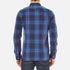 Superdry Men's Washbasket Long Sleeve Button Down Shirt - Tylers Check Navy: Image 3