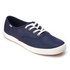 Keds Women's Champion Metallic Canvas Plimsoll Trainers - Peacoat Navy: Image 2