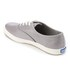 Keds Women's Champion Metallic Canvas Plimsoll Trainers - Silver: Image 4
