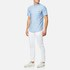 Polo Ralph Lauren Men's Short Sleeve Shirt - Blue: Image 3