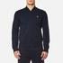 Polo Ralph Lauren Men's Double Knitted Tech Bomber Jacket - Navy: Image 1