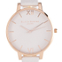 Olivia Burton Women's Big Dial Blush and Rose Gold Watch - Rose Gold: Image 3