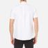 Pretty Green Men's Short Sleeve Oldbury Oxford Shirt - White: Image 3