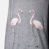 Wildfox Women's Two Flamingos Roadtrip Sweatshirt - Heather Grey: Image 5