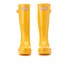 Hunter Kids' Original Gloss Wellies - Sunlight: Image 2