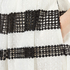 MICHAEL MICHAEL KORS Women's Stripe Lace Full Skirt - Black: Image 4