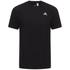 adidas Men's Essential Logo T-Shirt - Black: Image 1