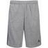 adidas Men's Essential 3 Stripe Fleece Jog Shorts - Grey: Image 1