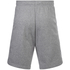 adidas Men's Essential 3 Stripe Fleece Jog Shorts - Grey: Image 2