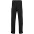 adidas Men's Essential 3 Stripe Fleece Sweatpants - Black: Image 2
