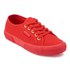 Superga Women's 2750 Cotu Classic Trainers - Red/Gold: Image 2
