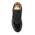 Android Homme Men's Omega Quilted Velvet Low Top Trainers - Black: Image 3