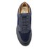 Android Homme Men's Omega Quilted Velvet Low Top Trainers - Navy: Image 3