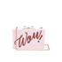 Ted Baker Women's Stecy Glitter Word Resin Clutch Bag - Purple: Image 1