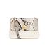 Ted Baker Women's Misti Circle Lock Exotic Trim Cross Body Bag - Ivory: Image 1