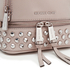 MICHAEL MICHAEL KORS Women's Rhea Zip Studded XS Messenger Backpack - Cement: Image 2