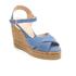 Castaner Women's Blaudell Wedged Espadrille Sandals - Jeans: Image 2