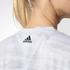 adidas Women's Aeroknit Boxy Crop Top - White: Image 6