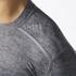 adidas Men's TechFit Climachill T-Shirt - Core Heather: Image 8