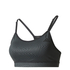 adidas Women's Strappy Low Support Sports Bra - Black: Image 1
