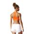 adidas Women's TechFit Medium Support Sports Bra - Energy Red: Image 5