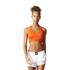 adidas Women's TechFit Medium Support Sports Bra - Energy Red: Image 3