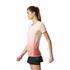 adidas Women's Primeknit Wool Dip-Dye Running T-Shirt - Easy Coral: Image 4