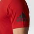 adidas Men's Freelift Prime T-Shirt - Scarlet: Image 7