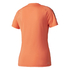 adidas Women's D2M 3 Stripe T-Shirt - Easy Coral: Image 2